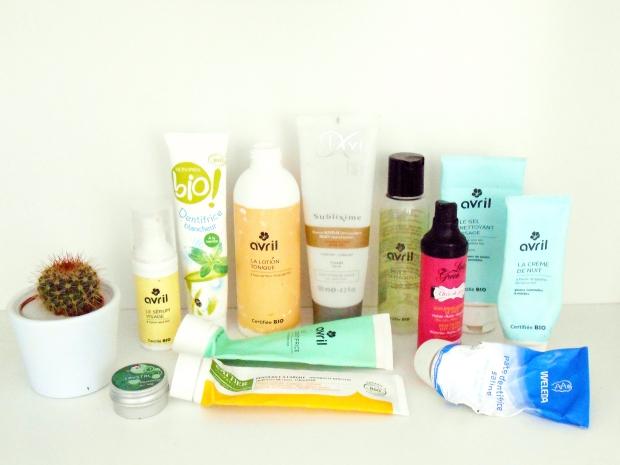 produits finis visage bio naturel